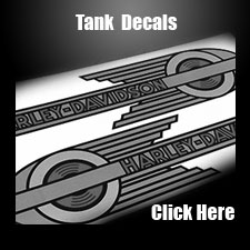 HarleyDavidson Tank Emblems Medallions FOR SALE Attitude - Harley davidsons motorcycles stickers