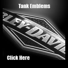 Harley-Davidson Tank Emblems