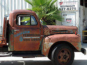 1948  Ford F6 Carrier truck