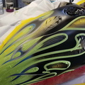 06 flames airbrushed