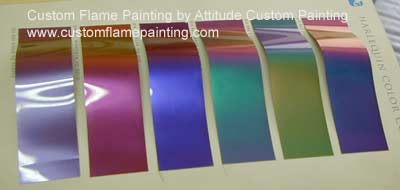 PPG Harlequin Color Shift Color Charts | Attitude Paint ...