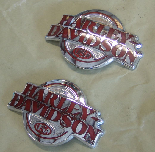 Harley Davidson Tank Emblems Medallions For Sale Motorcycle