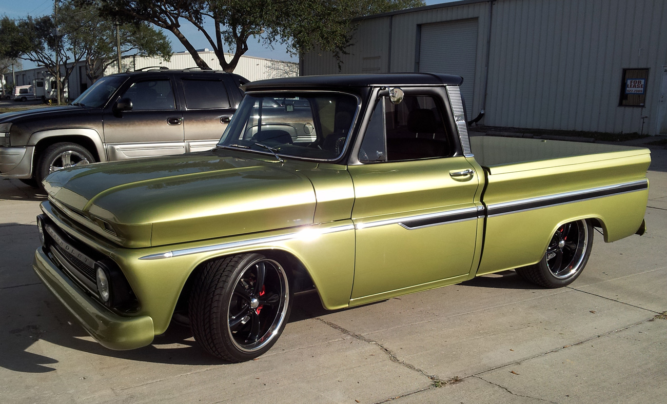1966 Chevy C10 Current Pics 2013-up | Attitude Paint Jobs - Harley ...