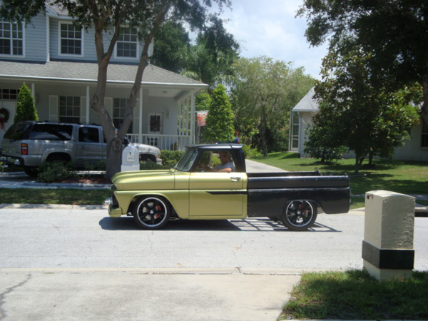 1966 Chevy C 10 Short Bed Fleetside June 2011