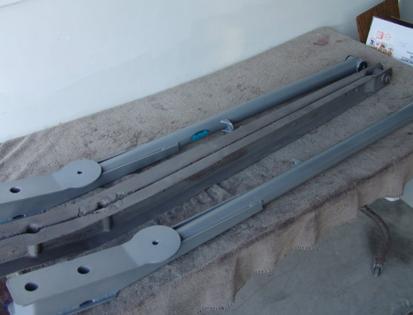 15 trailing arms