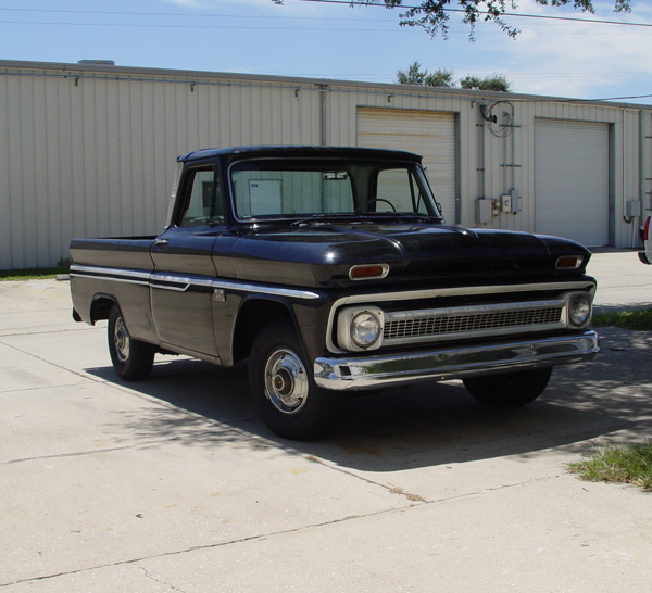 1966 Chevy C 10 Short Bed Fleetside Attitude Paint Jobs