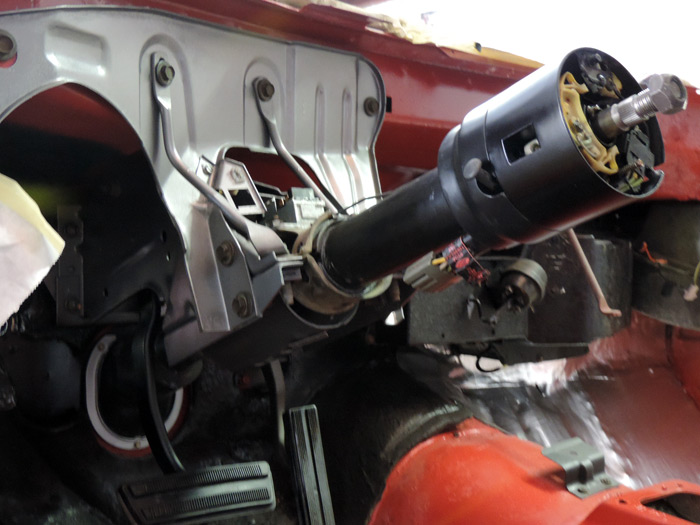03 121213 steering column installed