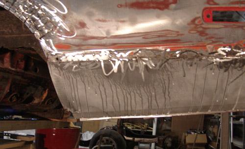 10 welded panel