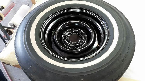 30 spare tire painted