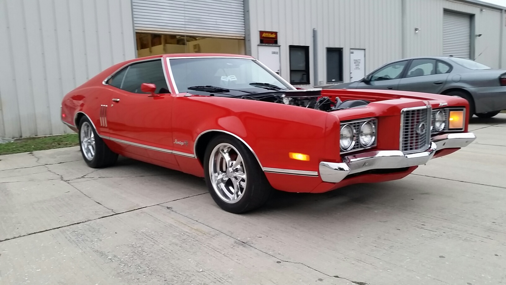 1972 mercury montego n code 429 restomod motorcycle custom - Click For Bigger Pic
