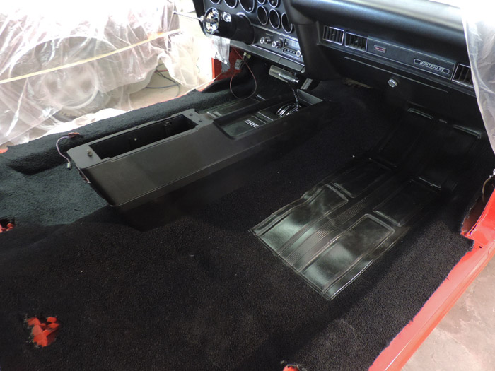 69b console and dash installed
