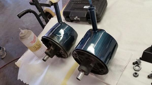 21 power steering pump