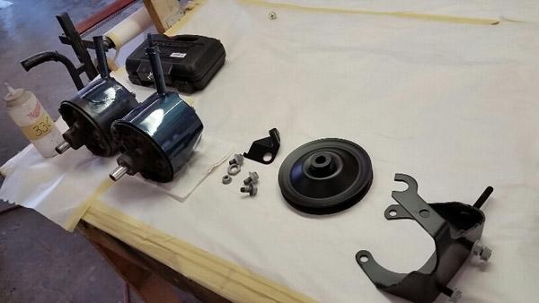 22 power steering pump