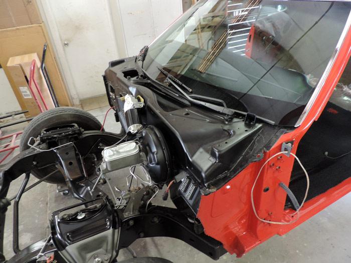 81 windshield installed