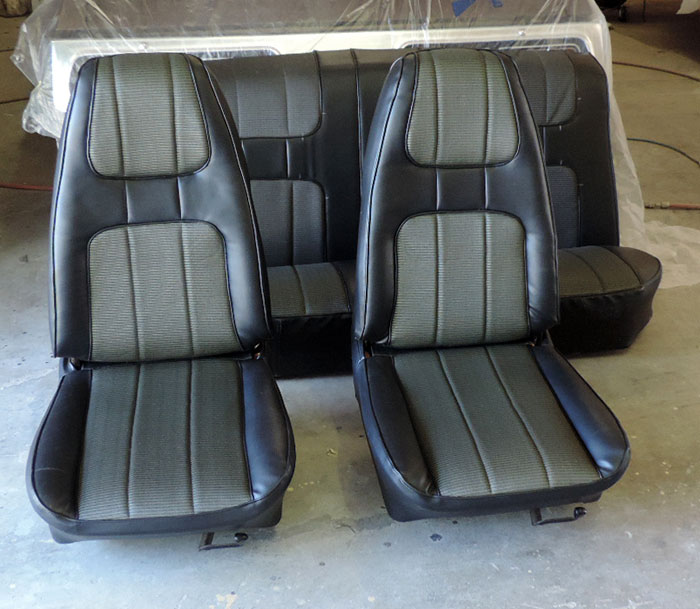 01 050814 seats reupholstered