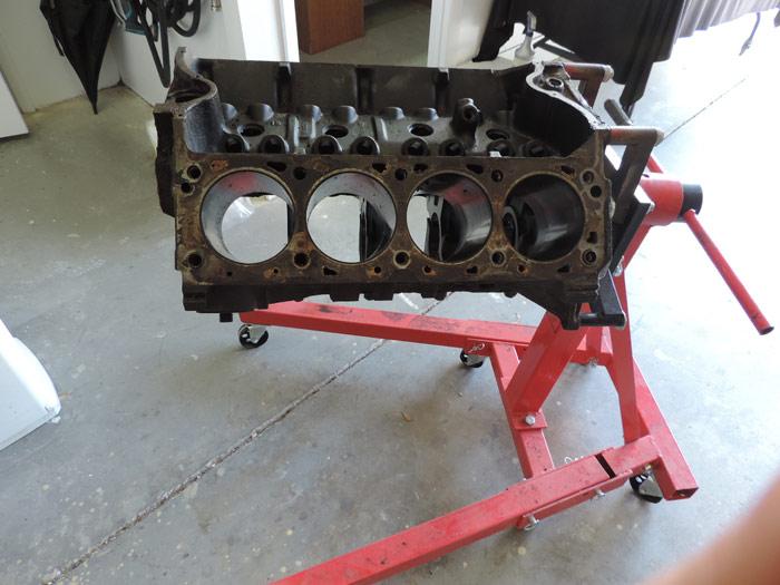 07 engine block