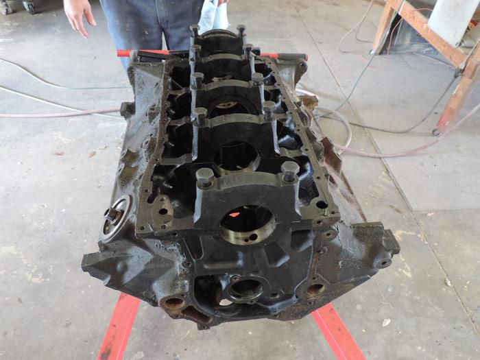 08 engine block