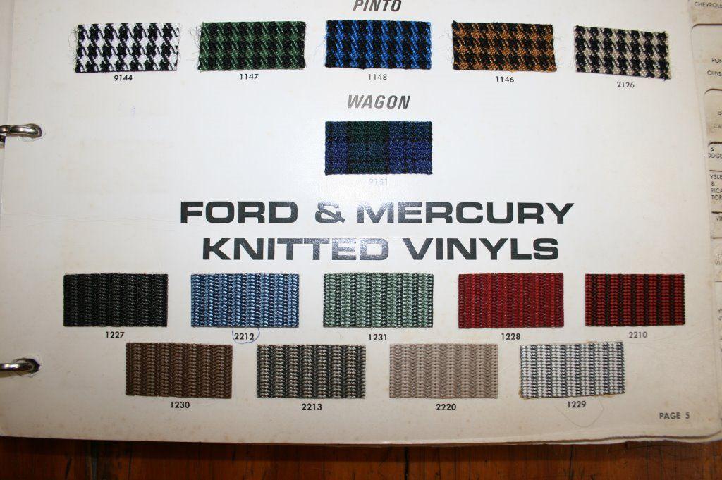 trim code FA 1227 material