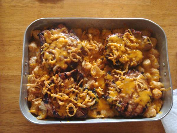 pork chop patato bak 7 22 10