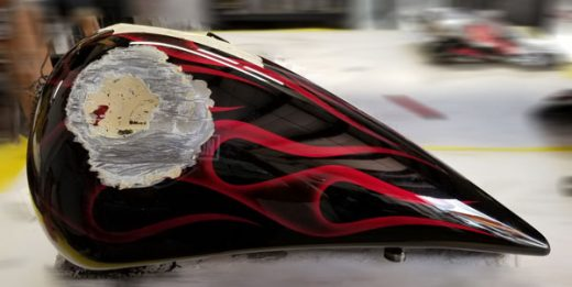 Candy brandywine flame job repair