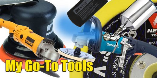 My favorite auto body tools