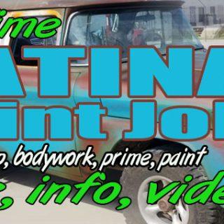 Patina Paint job | 1963 GMC Suburban