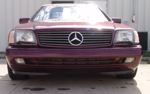 Used Cars For Sale In Tampa >> 1998 Mercedes SL500 front bumper repair | Motorcycle ...