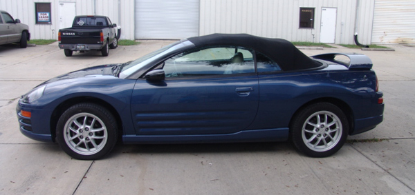 Overall Paint Job On A 2002 Mitsubishi Eclipse Spyder