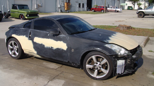 Paint Booth Rental >> 2006 Nissan 350Z | Motorcycle custom painting - flames - graphics - trucks / cars - Attitude ...